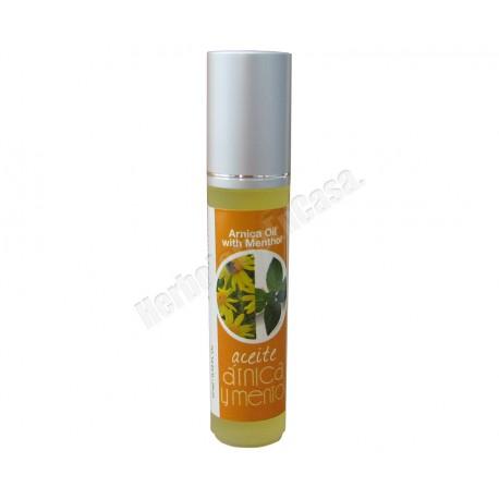Aceite de Árnica con Mentol en roll on 10 ml. Thermal Teide Cosmetics