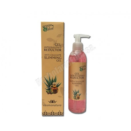 Gel Anticelulítico reductor 250ml. Argan Aloe
