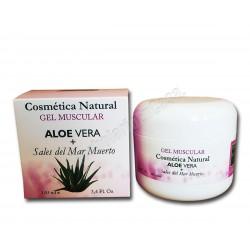 Gel muscular con Aloe Vera y Sales del Mar Muerto 100ml. Pere Marve Cosmetics