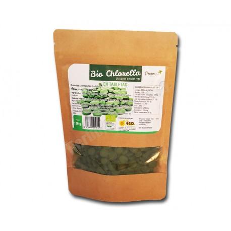 Chlorella Bio 300 comprimidos de pared celular rota. Dream Foods