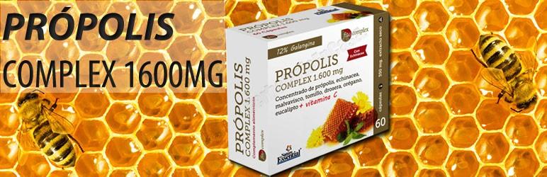 Própolis Complex 1.600mg 60 cápsulas. Fito complex .Nature Essential